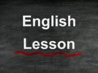 İngilizce Dersi